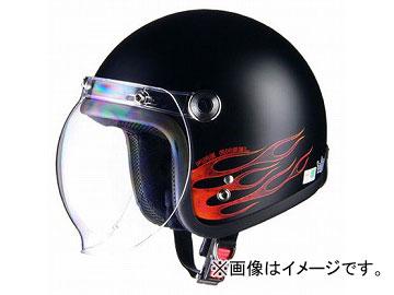 2輪 リード工業 BARTON ジェットヘルメット ファイアエンジェル フリーサイズ(57~60cm未満) BC-10