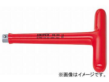 クニペックス/KNIPEX 絶縁T型ハンドル 3/8SQ 品番:9830 JAN:4003773026488
