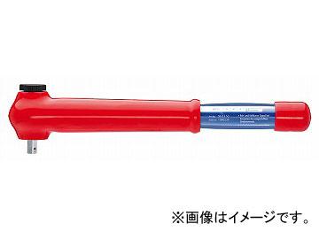 クニペックス/KNIPEX 絶縁トルクレンチ NM仕様(5-50NM) 3/8SQ 品番:984350JP JAN:4003773073710