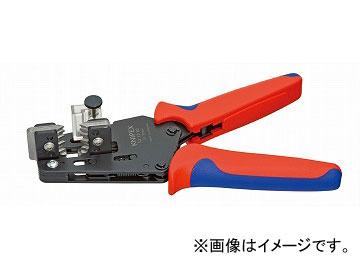 クニペックス/KNIPEX ワイヤーストリッパー 品番:1212-10 形状刃付き JAN:4003773049012