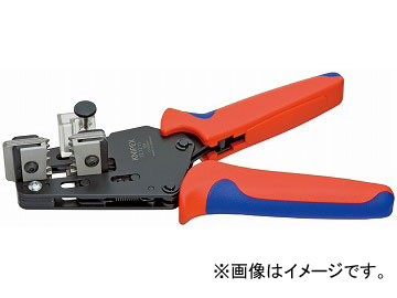 クニペックス/KNIPEX ワイヤーストリッパー 品番:1212-11 形状刃付き JAN:4003773062998