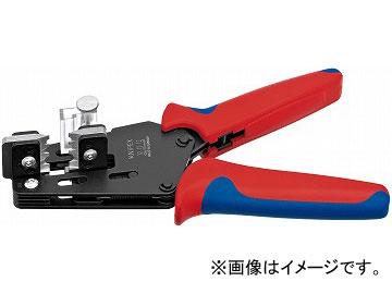 クニペックス/KNIPEX ワイヤーストリッパー 品番:1212-12 形状刃付き JAN:4003773073758
