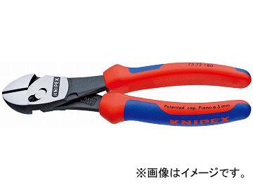 クニペックス/KNIPEX ツインフォースニッパー 品番:7372-180 JAN:4003773074816