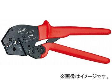 クニペックス/KNIPEX 圧着ペンチ 品番:9752-06 JAN:4003773039464