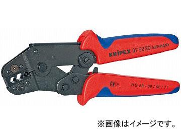 クニペックス/KNIPEX 圧着ペンチ JAN:4003773026853 品番:9752-20