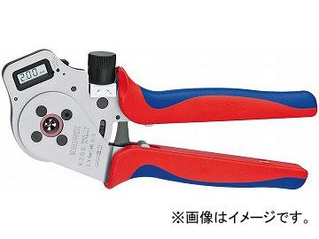 日本製 JAN:4003773063216:オートパーツエージェンシー2号店 デジタル圧着ペンチ クニペックス/KNIPEX 品番:9752-65DG-DIY・工具