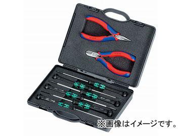 クニペックス/KNIPEX エレクトロニクスプライヤーセット 品番:002018 JAN:4003773033073
