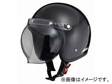 2輪 リード工業 アンブローズ ジェットヘルメット ブラック AB-505