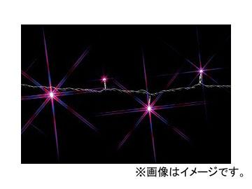 ジェフコム/JEFCOM LEDストリングフォール(SJシリーズ) ピンク・ピンク SJ-S05-10PP JAN:4937897116834