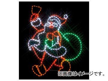 ジェフコム/JEFCOM LEDモチーフ(SJシリーズ) サンタクロース SJ-A23-N JAN:4937897127366