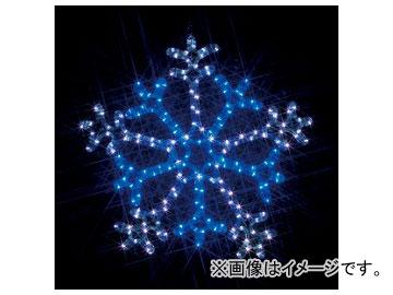 ジェフコム/JEFCOM LEDモチーフ(SJシリーズ) 雪の結晶(2色点滅) SJ-C103WB-N JAN:4937897127328