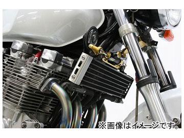 2輪 アクティブ ハイパープロ ステアリングダンパーステー ステーカラー:ゴールド,ブラック ヤマハ XJR1200/XJR1300SP(逆車) 1998年~2001年
