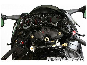 2輪 アクティブ ハイパープロ ステアリングダンパーステー ステーカラー:ゴールド,ブラック スズキ GSX1300R 1999年~2011年
