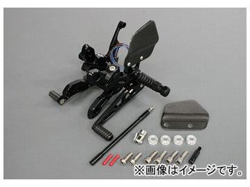 2輪 アクティブ ギルズツーリング バックステップ VCR38GT/ブラック VCR-K02-B JAN:4538792548838 カワサキ Z1000 2007年~2009年