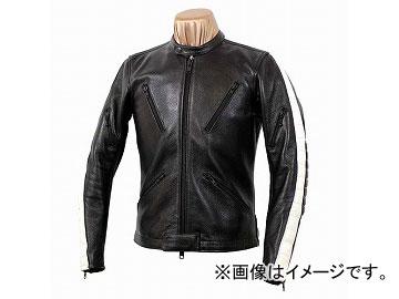 2輪 カドヤ/KADOYA K'S LEATHER ロイド No.1156 ブラック×ホワイト サイズ:3L JAN:4573208925636