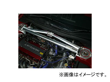 オクヤマ ストラットタワーバー 646 312 0 フロント アルミ製 タイプRSP ミツビシ ランサーEVOワゴン CT9W