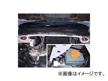オクヤマ ストラットタワーバー 631 508 0 フロント スチール製 タイプI MCS スバル レガシィ ツーリングワゴン BH5/BG5 NA不可
