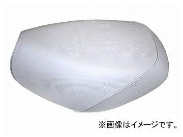 2輪 グロンドマン 国産シートカバー エンボスホワイト/白パイピング(被せ) 品番:GR213HC280P20 JAN:4562493012480 ホンダ PCX125(初期/EPSエンジン)