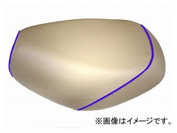 2輪 グロンドマン 国産シートカバー ベージュ/青パイピング(被せ) 品番:GR214HC330P50 JAN:4562492981619 ホンダ PCX125(JF56)