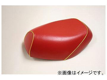 2輪 グロンドマン 国産シートカバー 赤/黄色パイピング(被せ) 品番:GR68YC40P100 JAN:4571470318750 ヤマハ シグナスD(4TG/4KP)