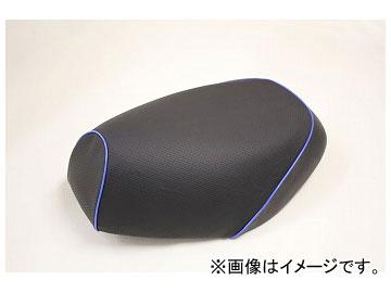 2輪 グロンドマン 国産シートカバー エンボス(黒)/青パイピング(被せ) 品番:GR213HC80P50 JAN:4562492984788 ホンダ PCX125(初期/EPSエンジン)