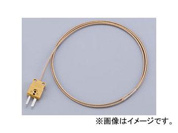 アズワン/AS ONE 被覆熱電対(ディープレックス) ミニチュアコネクター付き DG-K-5m-コネクター 品番:1-9930-14