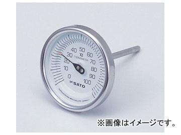 アズワン/AS ONE バイメタル式温度計(ステンケース) BM-T-90S 品番:2-1340-02 JAN:4974425170500