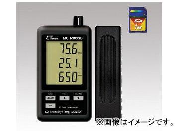アズワン/AS ONE データロガデジタル MCH-383SD(温・湿度・CO2計) 品番:1-2517-03 JAN:4986702202552