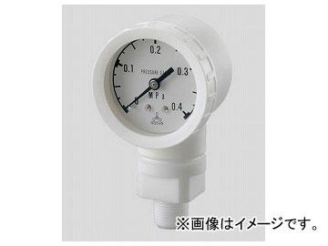 アズワン/AS ONE 高耐蝕用圧力計 DL-B1-R3-0.4M 品番:2-353-01