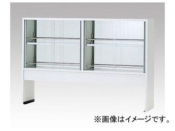 アズワン/AS ONE 試薬棚(ホワイトタイプ・両面型) ガラス戸付き TEB-1500W 品番:2-3563-03 JAN:4562108521314