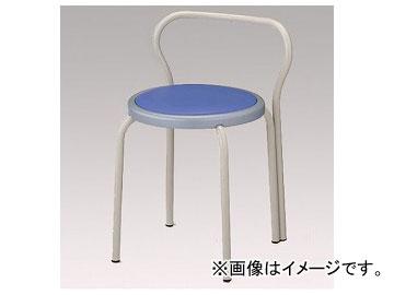 アズワン/AS ONE 丸イス ブルー S-153-B 品番:8-9006-02
