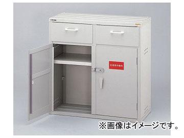 アズワン/AS ONE 強化塩ビ製薬品庫 下段ユニット・鍵付き 1D型 品番:3-070-03 JAN:4560111770026