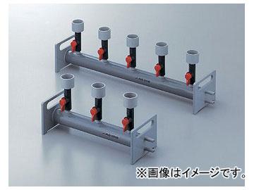 アズワン/AS ONE フィルターホルダーマニホルド(塩化ビニル製) 3連式 品番:2-258-01 JAN:4562108508629