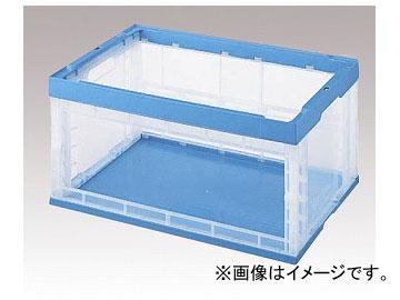 アズワン/AS ONE 窓アキ透明オリタタミコンテナ OC-75N 品番:1-2845-02 JAN:4562166418519