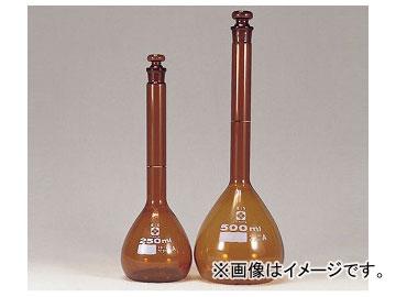 アズワン/AS ONE メスフラスコ(全量フラスコ・スーパーグレード) 茶/2000ml 品番:6-241-11