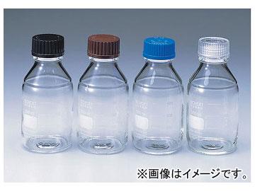 アズワン/AS ONE ねじ口瓶丸型白(デュラン(R)) 透明キャップ付き/5000ml 品番:2-035-07
