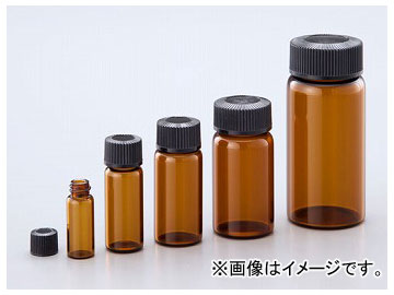 アズワン/AS ONE マイティバイアル(硼珪酸ガラス製) 茶 No.02 品番:1-8129-02
