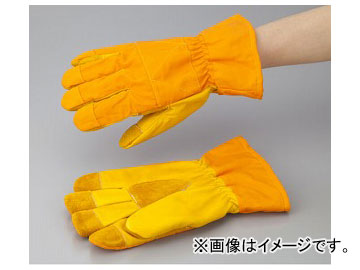 アズワン/AS ONE 冷凍庫用革手袋 416 品番:6-6199-01 JAN:4970687000449