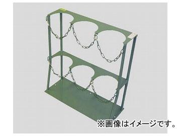アズワン/AS ONE ボンベスタンド 1500l/2000l用×3本 品番:2-9198-03