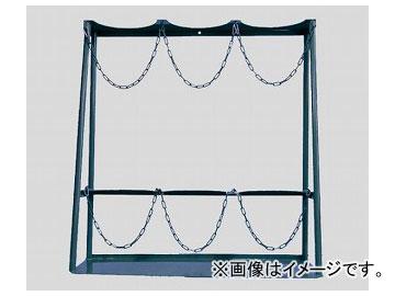 アズワン/AS ONE ボンベスタンド 7000l用×3本 品番:2-9199-03