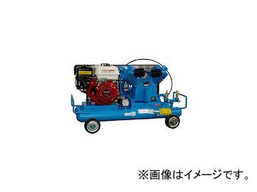 明治機械製作所/meiji 軽便形エンジン駆動コンプレッサ GE-22DS
