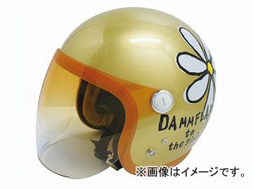 2輪 ダムトラックス/DAMMTRAX フラワージェット グランデ シャンパンゴールド レディースフリー(57cm~58cm) JAN:4580184031367