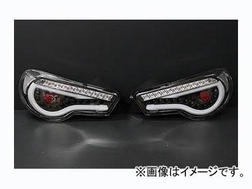 ファイナルコネクション LEDテールランプ クリアレンズ/ブラック トヨタ 86