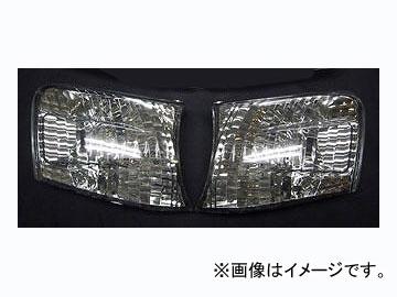ファイナルコネクション フロントクリスタルウインカー スモーク トヨタ チェイサー JZX100