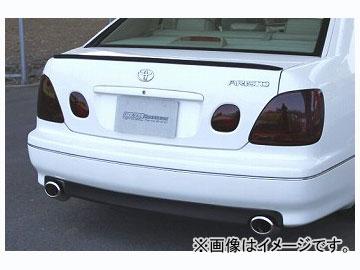 ファイナルコネクション ZERO カーボントランクスポイラー タイプ:ブラックカーボン,シルバーカーボン トヨタ アリスト JZS16