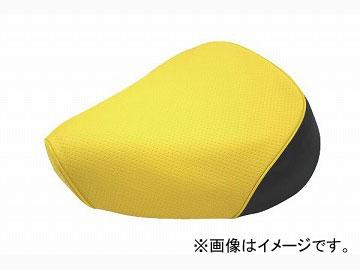 2輪 グロンドマン 国産シートカバー エンボスイエロー/黄色パイピング (張替) 品番:GH17KC250P100 JAN:4562492998778 カワサキ バリオス(ZR250)