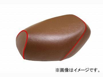 2輪 グロンドマン 国産シートカバー 茶/赤パイピング (張替) 品番:GH17KC60P40 JAN:4562492999393 カワサキ バリオス(ZR250)