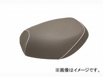 2輪 グロンドマン 国産シートカバー グレー/白パイピング (張替) 品番:GH17KC70P20 JAN:4562492999430 カワサキ バリオス(ZR250)