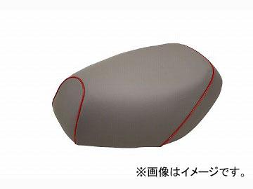 2輪 グロンドマン 国産シートカバー グレー/赤パイピング (張替) 品番:GH17KC70P40 JAN:4562492999447 カワサキ バリオス(ZR250)