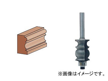 全長(mm):55.4 ライト精機 トリマ用(6mm軸) スペシャルモールカッター(コロ付) 幅(mm):17.5 JAN:4990052002120 有効長(mm):25.4 TR-52 1.5分